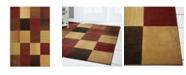 "Global Rug Designs Yorba YOR02 Brown 7'10"" x 10'2"" Area Rug"