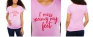 Motherhood Maternity I Miss Seeing My Feet™ Graphic Tee