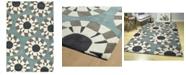 "Kaleen Origami ORG03-75 Gray 5' x 7'6"" Area Rug"