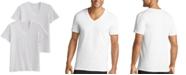 Jockey Men's 2-Pk. MaxStretch V-Neck T-Shirts