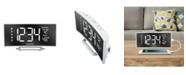 La Crosse Technology 602-249 Curved Mirror LED Alarm Clock