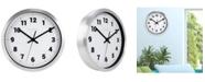 """La Crosse Technology La Crosse Clock 404-2626 10"""" Metal Analog Wall Clock"""