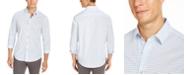 Tasso Elba Men's Stretch Foulard Print Shirt, Created For Macy's