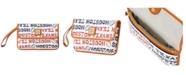 Dooney & Bourke Houston Texans Doodle Milly Wristlet