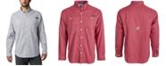 Columbia Men's PFG Super Tamiami Grid Pattern Shirt
