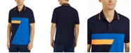 Club Room Men's Colorblocked Performance Polo Shirt, Created For Macy's