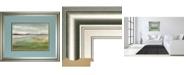 """Classy Art Meadow Stream II by Nan Framed Print Wall Art, 34"""" x 40"""""""