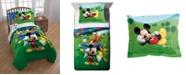 Disney Mickey Mouse Reversible 2-Piece Twin Comforter Set
