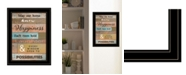 "Trendy Decor 4U Trendy Decor 4U Our Home by Karen Tribett, Ready to hang Framed Print, Black Frame, 15"" x 19"""