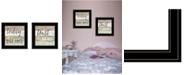 "Trendy Decor 4U Trust in the Lord 2-Piece Vignette by Marla Rae, Black Frame, 15"" x 15"""