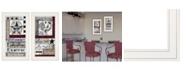 "Trendy Decor 4U Trendy Decor 4U Family Wisdom 2-Piece Vignette by Linda Spivey, White Frame, 12"" x 21"""