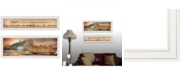 """Trendy Decor 4U Together Blessed We Have It All 2-Piece Vignette by Lori Deiter, White Frame, 39"""" x 15"""""""