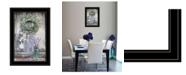 "Trendy Decor 4U Sweet Memories by Lori Deiter, Ready to hang Framed Print, Black Frame, 15"" x 21"""