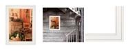"Trendy Decor 4U Vintage-Like Skates by Anthony Smith, Ready to hang Framed Print, White Frame, 15"" x 19"""