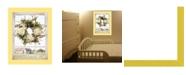 "Trendy Decor 4U Pleasant View by Lori Deiter, Ready to hang Framed Print, Yellow Window-Style Frame, 14"" x 18"""