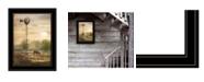 "Trendy Decor 4U Trendy Decor 4U Berks Co. Sunrise by Lori Deiter, Ready to hang Framed Print, Black Frame, 15"" x 19"""
