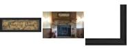 "Trendy Decor 4U Trendy Decor 4U Amazing Grace By Gail Eads, Printed Wall Art, Ready to hang, Black Frame, 9"" x 33"""