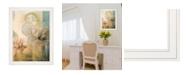 "Trendy Decor 4U Meandering Flowers II by Dee Dee, Ready to hang Framed Print, White Frame, 21"" x 27"""