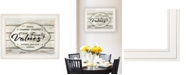 """Trendy Decor 4U Our Family Values by Cindy Jacobs, Ready to hang Framed Print, White Frame, 19"""" x 15"""""""