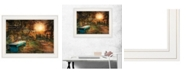 "Trendy Decor 4U Show Me the Path by Robin-Lee Vieira, Ready to hang Framed print, White Frame, 19"" x 15"""