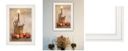 """Trendy Decor 4U Say A Prayer by Robin-Lee Vieira, Ready to hang Framed Print, White Frame, 15"""" x 21"""""""