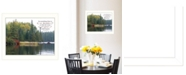 """Trendy Decor 4U To Everything There is a Season by Kim Norlien, Ready to hang Framed Print, White Frame, 18"""" x 14"""""""