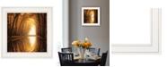 "Trendy Decor 4U Lochem Reflections by Martin Podt, Ready to hang Framed print, White Frame, 15"" x 15"""