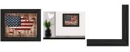 "Trendy Decor 4U America The Beautiful By Mollie B., Printed Wall Art, Ready to hang, Black Frame, 14"" x 18"""