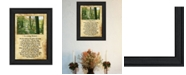 "Trendy Decor 4U Trendy Decor 4U In Loving Memory By Trendy Decor4U, Printed Wall Art, Ready to hang, Black Frame, 14"" x 10"""