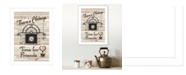 """Trendy Decor 4U Time for Friends by Millwork Engineering, Ready to hang Framed Print, White Frame, 10"""" x 14"""""""