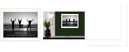 "Trendy Decor 4U Teamwork By Trendy Decor4U, Printed Wall Art, Ready to hang, White Frame, 14"" x 18"""