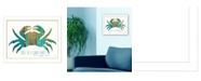 """Trendy Decor 4U Don't be a Crabby Pants By Marla Rae, Printed Wall Art, Ready to hang, White Frame, 18"""" x 14"""""""