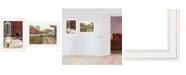 "Trendy Decor 4U Trendy Decor 4U Good Morning 2-Piece Vignette by Billy Jacobs, White Frame, 19"" x 15"""