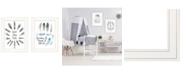 "Trendy Decor 4U Trendy Decor 4U Good Vibes 2-Piece Vignette by Seven Trees Design, White Frame, 15"" x 19"""