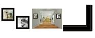 "Trendy Decor 4U Trendy Decor 4U Horse Reflections 2-Piece Vignette by Ken Roko, Black Frame, 15"" x 15"""