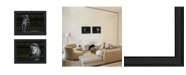 """Trendy Decor 4U Elegant Wildlife Collection By Dee Dee, Printed Wall Art, Ready to hang, Black Frame, 38"""" x 15"""""""