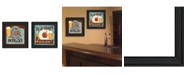"""Trendy Decor 4U Beer O'clock Collection By Mollie B., Printed Wall Art, Ready to hang, Black Frame, 28"""" x 14"""""""
