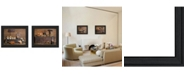 """Trendy Decor 4U Rustic Collection By Billy Jacobs, Printed Wall Art, Ready to hang, Black Frame, 18"""" x 14"""""""