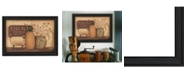 """Trendy Decor 4U Country Necessities By Pam Britton, Printed Wall Art, Ready to hang, Black Frame, 19"""" x 15"""""""