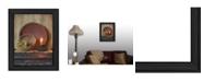 "Trendy Decor 4U The Red Bowl By SUSAn Boyer, Printed Wall Art, Ready to hang, Black Frame, 14"" x 18"""