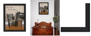 "Trendy Decor 4U Home Story By SUSAn Boyer, Printed Wall Art, Ready to hang, Black Frame, 15"" x 19"""