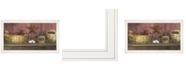 "Trendy Decor 4U Trendy Decor 4U Rise Shine by Billy Jacobs, Ready to hang Framed Print, White Frame, 33"" x 19"""