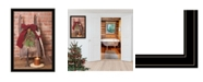 """Trendy Decor 4U Let Christmas Live by Billy Jacobs, Ready to hang Framed Print, Black Frame, 23"""" x 33"""""""