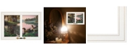 """Trendy Decor 4U Northern Tranquility by Kim Norlien, Ready to hang Framed Print, White Window-Style Frame, 21"""" x 15"""""""