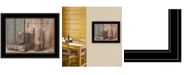 """Trendy Decor 4U Let Your Light Shine by Billy Jacobs, Ready to hang Framed Print, Black Frame, 19"""" x 15"""""""