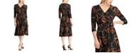 Lauren Ralph Lauren Petite Equestrian-Print Jersey Dress