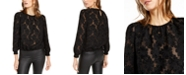 INC International Concepts INC Petite Jacquard Blouse, Created For Macy's