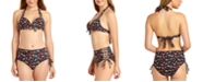 California Waves Underwire Push-Up Bikini Top & High-Waist Bottoms, Available in D/DD, Created for Macy's