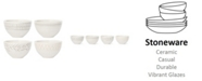 Lenox Textured Neutrals Fruit Bowls Set/4