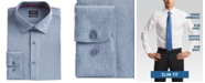 Buffalo David Bitton Men's Slim-Fit Performance Stretch Chambray Dress Shirt